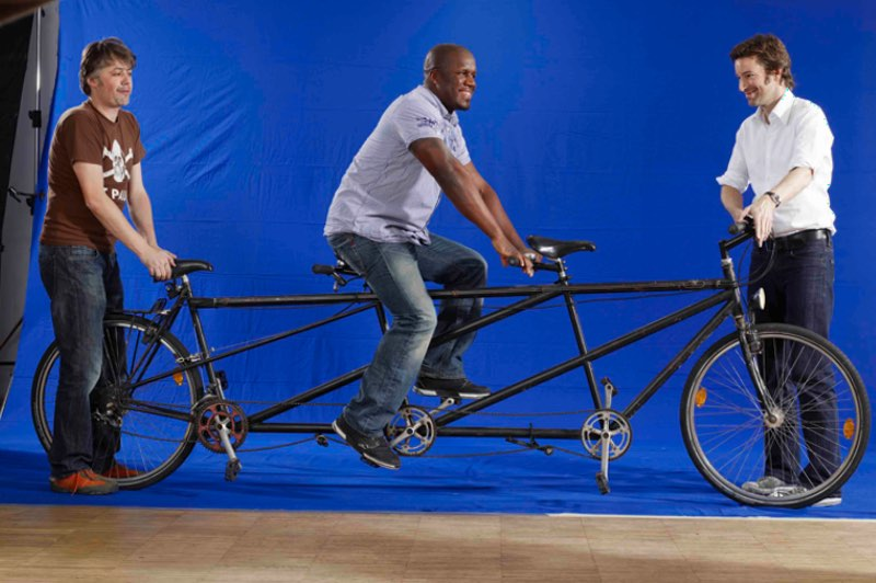 ICEP Sujet Fahrrad Making off